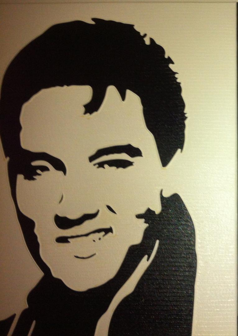 Elvis - schilderij van Vita | Dick Vittali