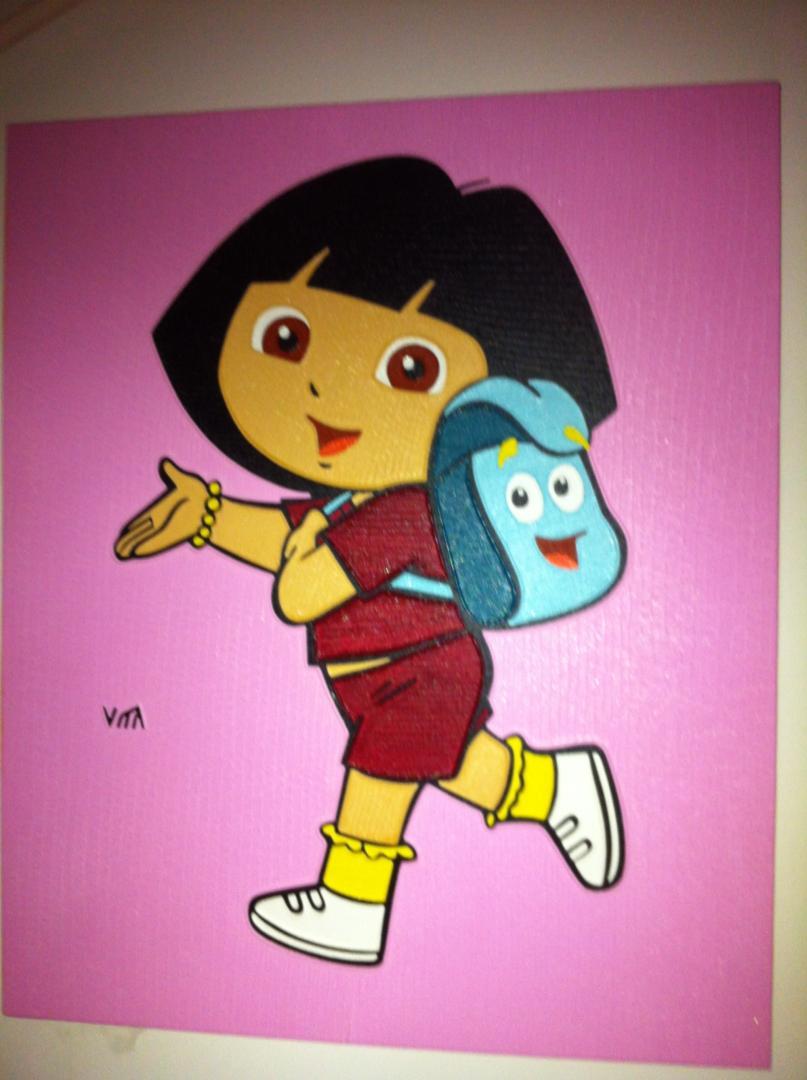 Kids 2 - schilderij van Vita | Dick Vittali