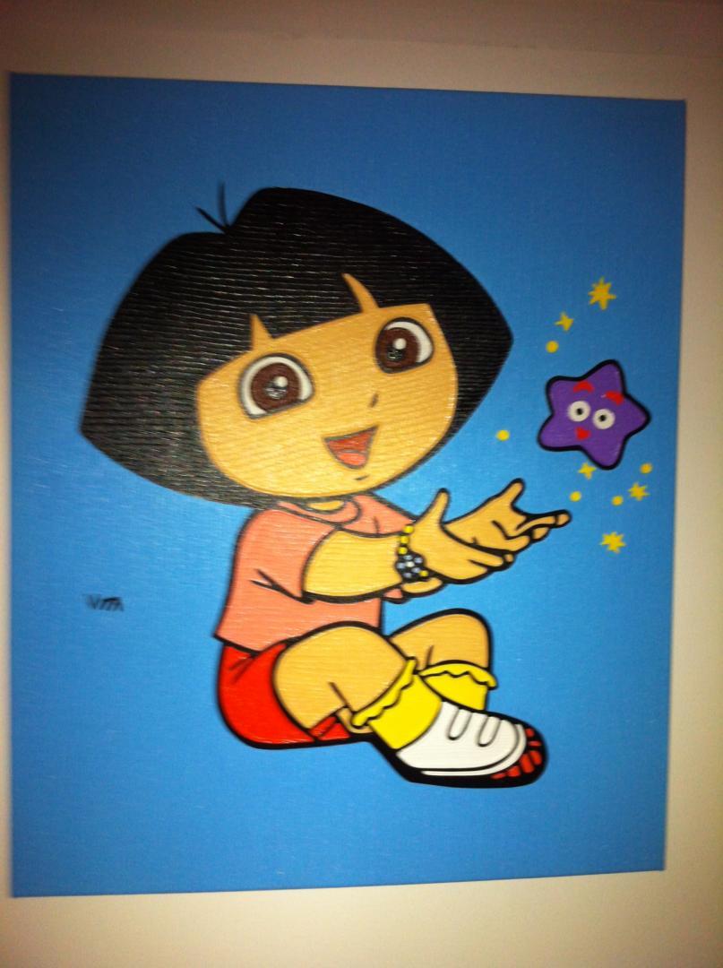 Kids 3 - schilderij van Vita | Dick Vittali