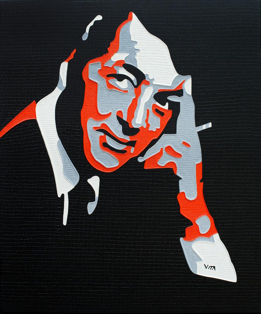 Dean 'Dino' Martin - Painting by Vita