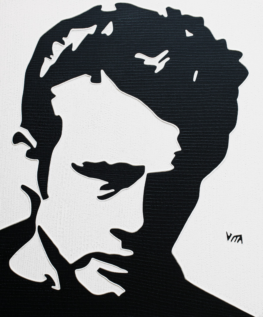 James Dean - Painting by Vita